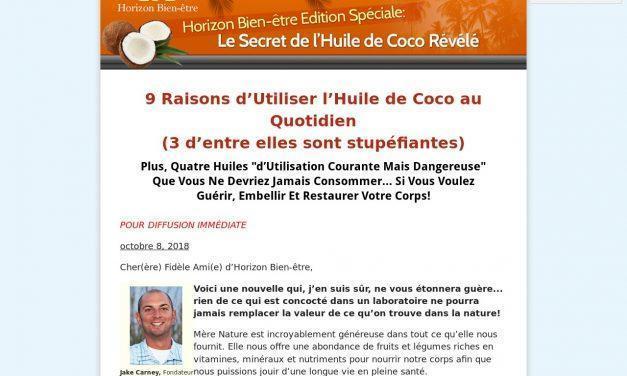 Horizon Bien-être Edition Spéciale: Le Secret de l'Huile de Coco Révélé
