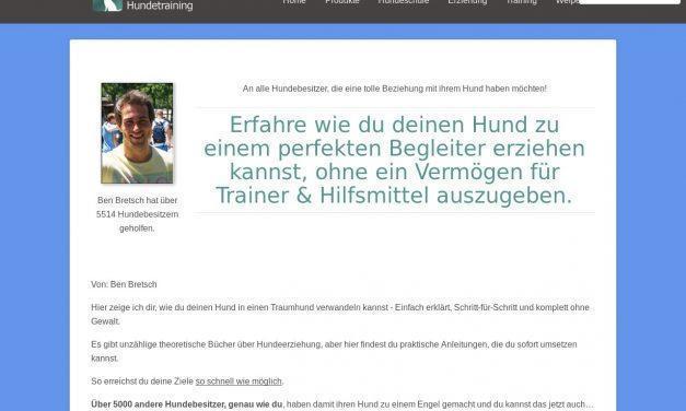 Online Hundeschule – Lerne wie du deinen Hund erziehen kannst. Click 2 | Einfaches Hundetraining