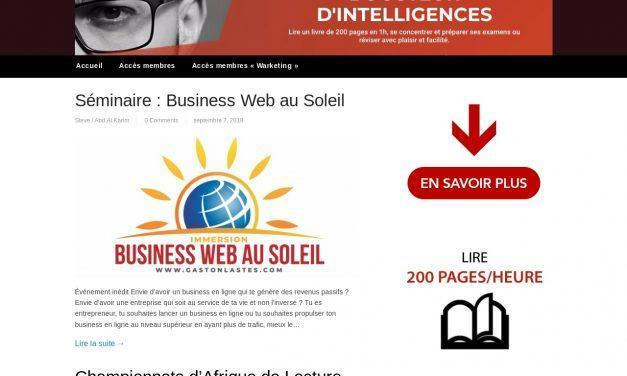 Boosteur d'intelligences – Elearning
