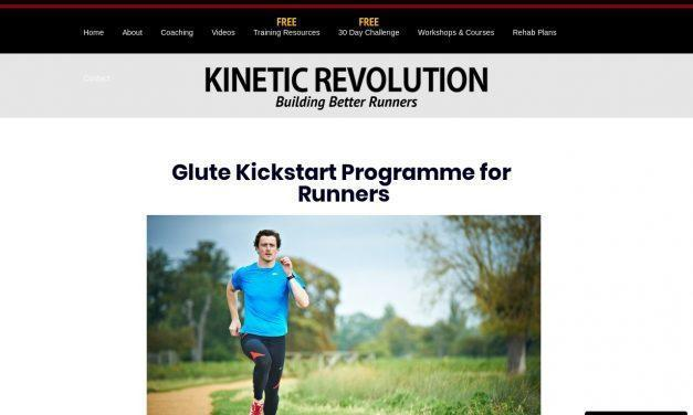 Glute Kickstart Programme for Runners – Kinetic Revolution