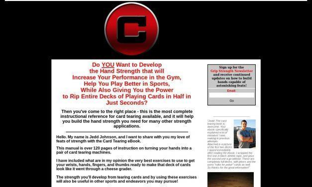 Card Tearing System – How to Tear Decks of Cards and Build Hands of Steel