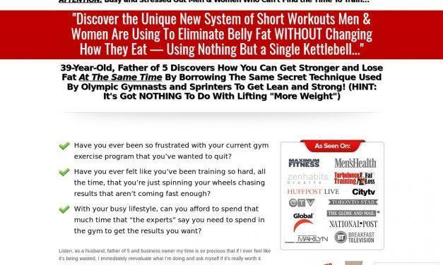 Kettlebell Evolution Advanced Fat Loss Program by Chris Lopez, SFGII –