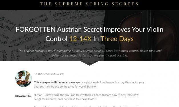 The String Secrets – Supreme String Secrets