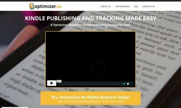 K Optimizer – Track, Manage & Promote Your Kindle Books In One Place!