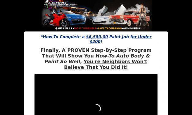 Learn Auto Body VIP Mastery Program