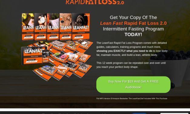 Lean Fast Rapid Fat Loss Intermittent Fasting Program – Rapid Fat Loss Programs 2.0