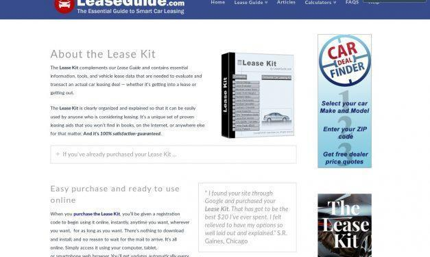 Lease Kit – Affiliate – by LeaseGuide.com