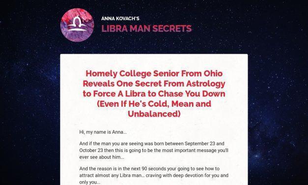 Libra Man Secrets — Put That Hot Libra Man Under Your Spell