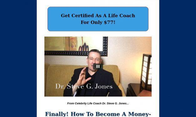 Life Coaching :: Dr. Steve G. Jones