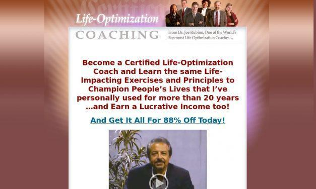Life Optimization Coaching Certification by The Center for Personal Reinvention