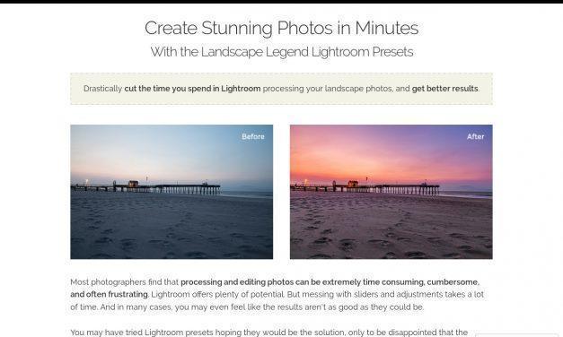 Landscape Legend Lightroom Presets for Landscape and Nature Photos