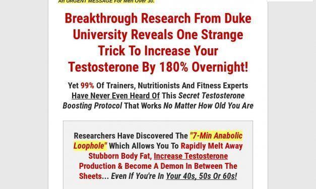 Big Testosterone Breakthrough