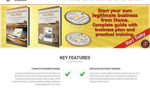 Embroidery Business from Home – Business Model and Digitizing Training Course