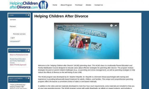 Helping Children After Divorce