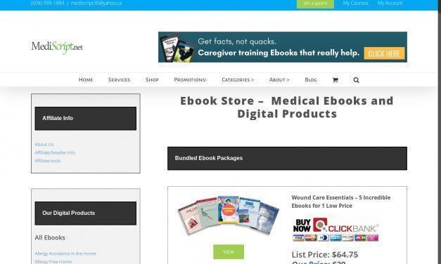 Ebook store – Mediscript