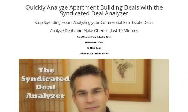 Quickly Analyze Apartment Building Deals with the Syndicated Deal Analyzer (CB) | Syndicated Deal Analyzer