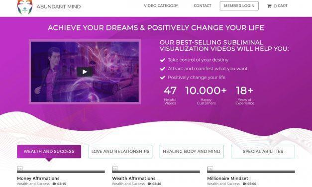 Abundant Mind – Subliminal Visualization Videos