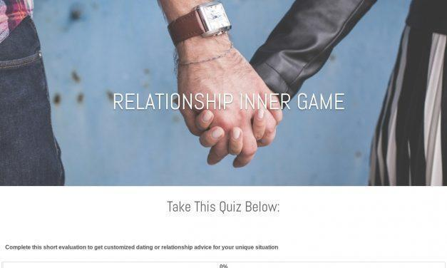 Dating and Relationship Outcomes Evaluation – Relationship Inner Game