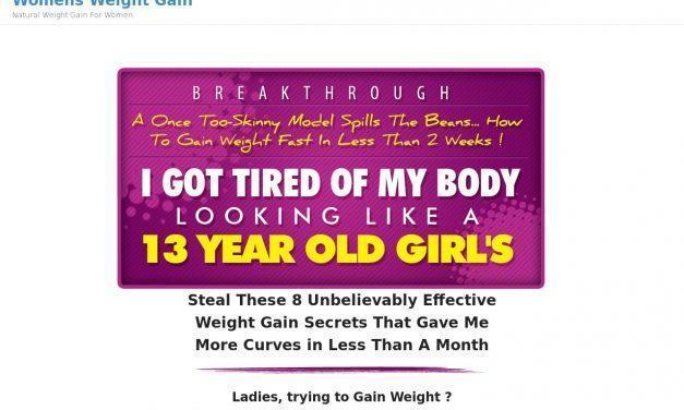 Women's Weight Gain – Womens Weight Gain