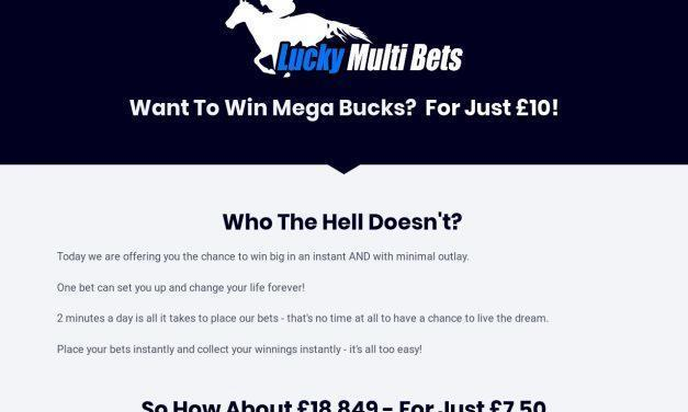 Lucky Multi Bets – Horse Racing Accumulator Tips
