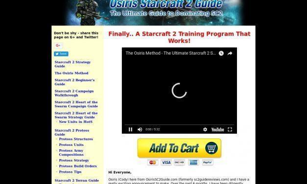 The Osiris Method – The Ultimate SC2 Training Program