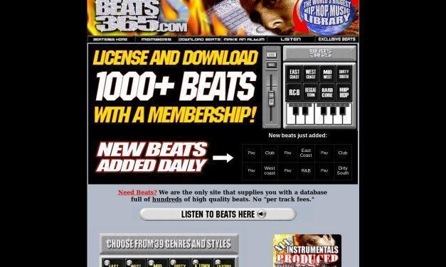 Beats365: Hip Hop & Rap Beats | Download Rap & Hip Hop Instrumentals, Sound Effects, Stock Music