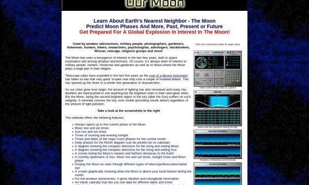 Our Moon: eBook & LunarPhase Lite Software Package