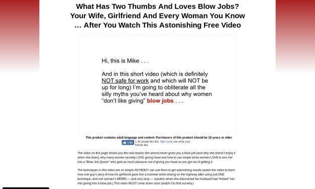 HowToGetHead.com | Discover The One Simple Trick That Makes Giving You A Blow Job Into Her New Favorite Hobby