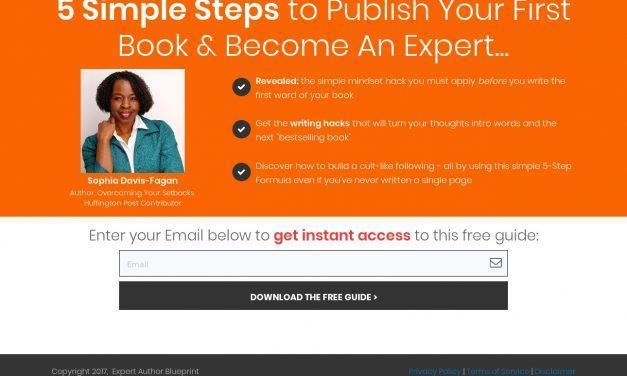 Expert Author Blueprint