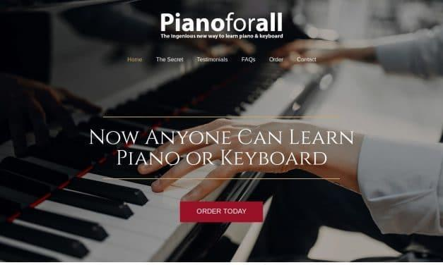 Home – Piano For All | Learn Piano & Keyboard
