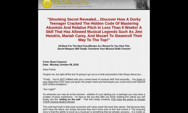 Pitch Master Pro – Relative Pitch & Absolute Pitch Ear Training – Perfect Pitch Software