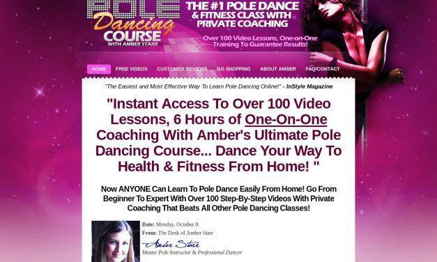 Home Pole Dancing Classes – 6 Hours of 100 Pole Dancing Videos Lessons With One-on-One Coaching