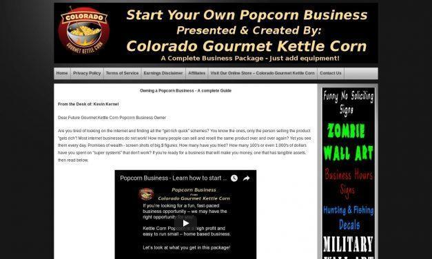 Popcorn Business – Make Gourmet Kettle Corn Popcorn