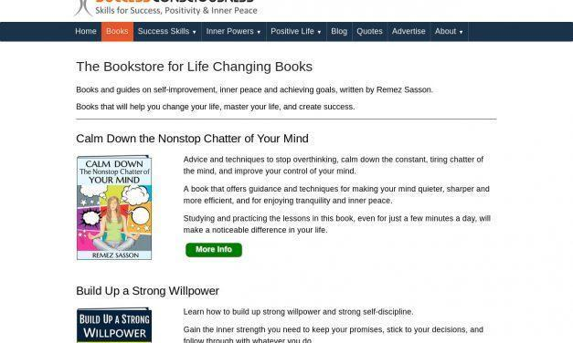 Bookstore for Life Changing Books by Remez Sasson
