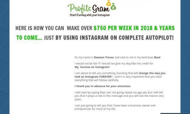 Instagram Auto-Income 2018 – Join Now – Make Money – ProfitsGram