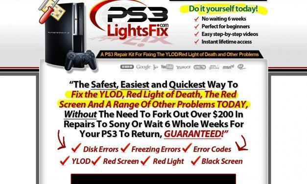PS3LIGHTSFIX.COM: PS3 Repair, PS3 Repair Guide, PS3 Yellow Light of Death