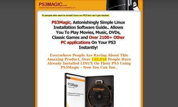 PS3Magic.com – Ultimate Product To Install Linux On Your Ps3