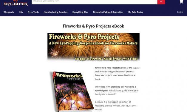 Fireworks & Pyro Projects eBook – Over 120 Projects — Skylighter, Inc.