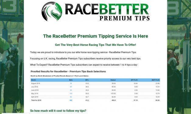 RaceBetter's Premium Horse Racing Tips