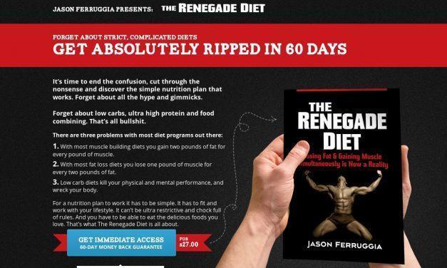 Renegade Diet Book | by Jason Ferruggia