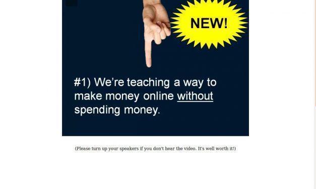 No Cost Income Stream 2.0