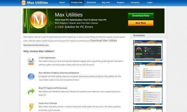 Max Utilities :: Product Information