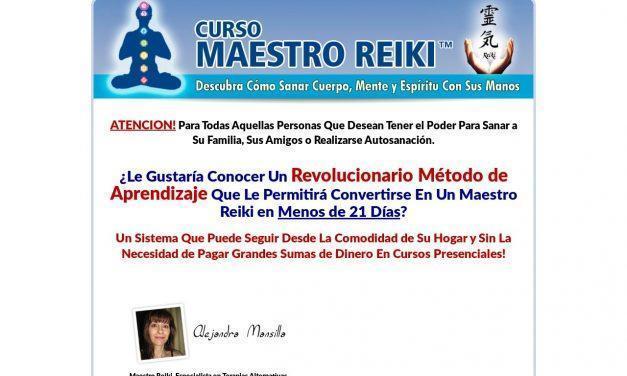 Curso Maestro Reiki™ | Cómo Sanar Cuerpo, Mente y Espíritu Con Sus Manos