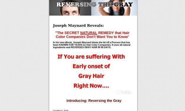 Reversing the Gray | The Secret Natural Remedy for Gray Hair