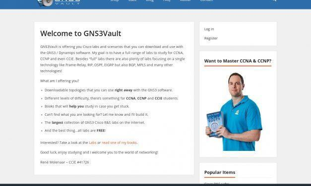 Welcome to GNS3Vault – GNS3vault