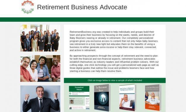 Retirement Business Advocate