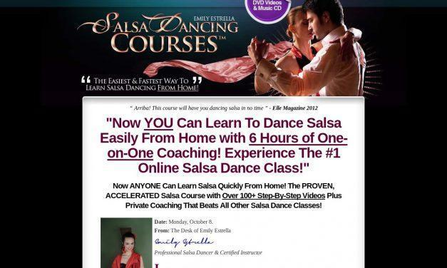 SalsaDancingCourse™ – The #1 Home Salsa Class With 6 Hours of Salsa Videos That Guarantees Results!