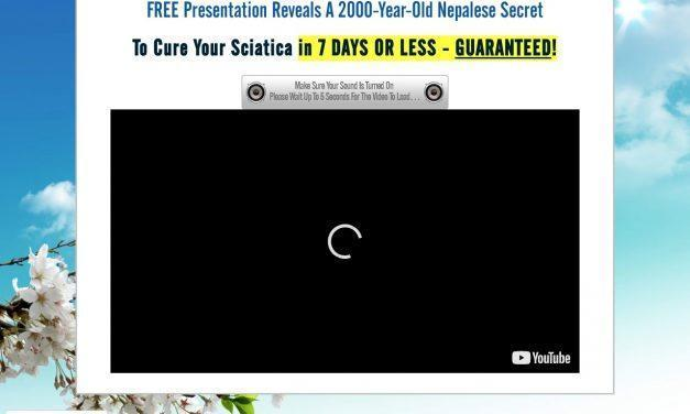 Sciatica SOS™ – OFFICIAL WEBSITE