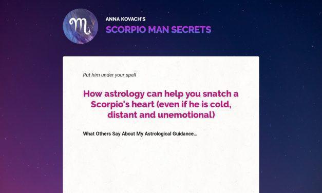 Scorpio Man Secrets — Put That Hot Scorpio Man Under Your Spell