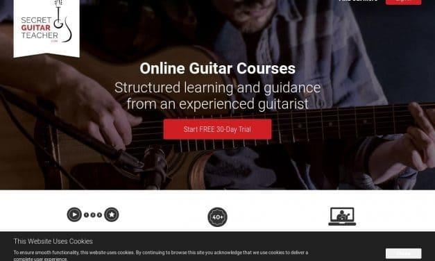 Take Online Guitar Lessons with the Secret Guitar Teacher